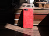 alto iPhone 8 Plus / iPhone 7 Plus 真皮手機殼背蓋 5.5 吋 Original - 珊瑚紅【可加購客製雷雕】皮革保護套
