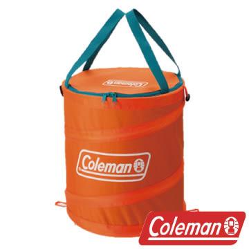 Coleman 萬用魔術桶/杏黃 衣物收納桶 垃圾桶 收納桶 戶外 露營 CM-6679J