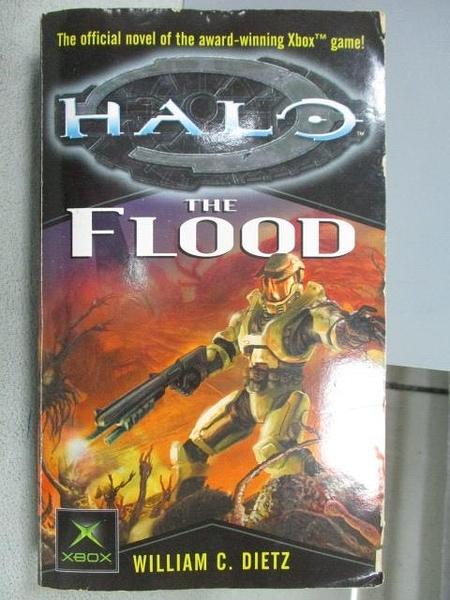 【書寶二手書T3/原文小說_MOA】HALO-The Flood_William C. Dietz