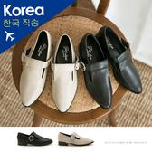 包鞋.圓釦紳士瑪莉珍鞋-大尺碼-FM時尚美鞋-韓國精選.Fabulous