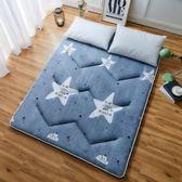 打地鋪睡墊可摺疊防滑午休懶人床墊子卡通可愛臥室簡易榻榻米地墊