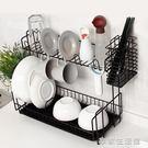 廚房置物架用品餐具盤子放碗架瀝水架碗櫃整...