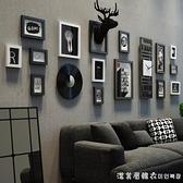 現代簡約家居客廳沙發背景牆裝飾照片牆室內牆上相框組合創意掛牆 NMS美眉新品