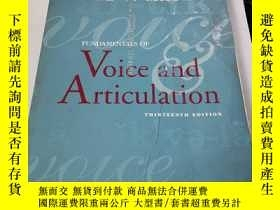 二手書博民逛書店MAYER罕見Fundamentals of Voice Articulation THIRTEENTH EDIT