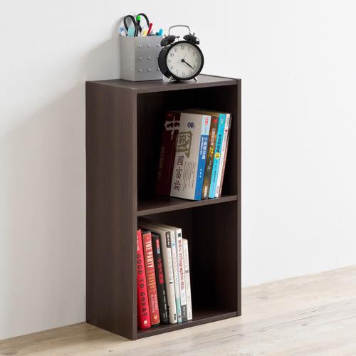 空櫃 收納【收納屋】輕日式二格櫃(2入組)&DIY組合傢俱