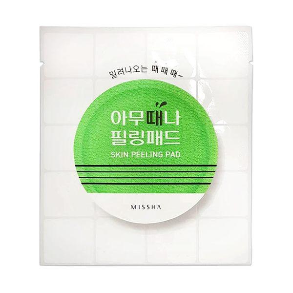 韓國 MISSHA 隨時隨地去角質棉片(單片) ◆86小舖 ◆