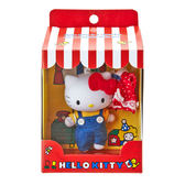 Hello Kitty娃娃 可換裝吊飾玩偶組/公仔/娃娃(吊帶褲/洋裝) [喜愛屋]