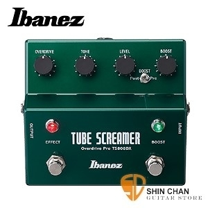 【增壓效果器】【Ibanez TS808DX】 【失真/增益效果器】【Tube Screamer w/Booster】