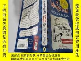 二手書博民逛書店diary罕見of a wimpy kid rodrick rules:一個懦弱的孩子的日記羅德裏克規則Y21