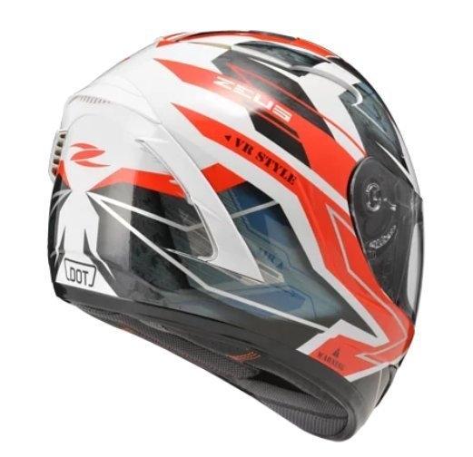 ZEUS 瑞獅安全帽,ZS-806F,II68/白紅