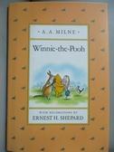 【書寶二手書T5/原文小說_MBX】Winnie-The-Pooh_A. A. Milne