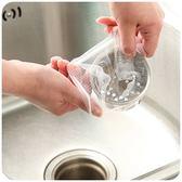 【過濾網30只裝】廚房排水口過濾網 流理台水槽殘渣過濾袋 菜渣防堵塞隔水袋30入