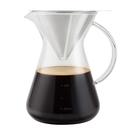 Driver 地中海不銹鋼濾杯組600ml 不銹鋼玻璃濾杯壺組 咖啡濾杯 咖啡壺 免濾紙 台灣製造