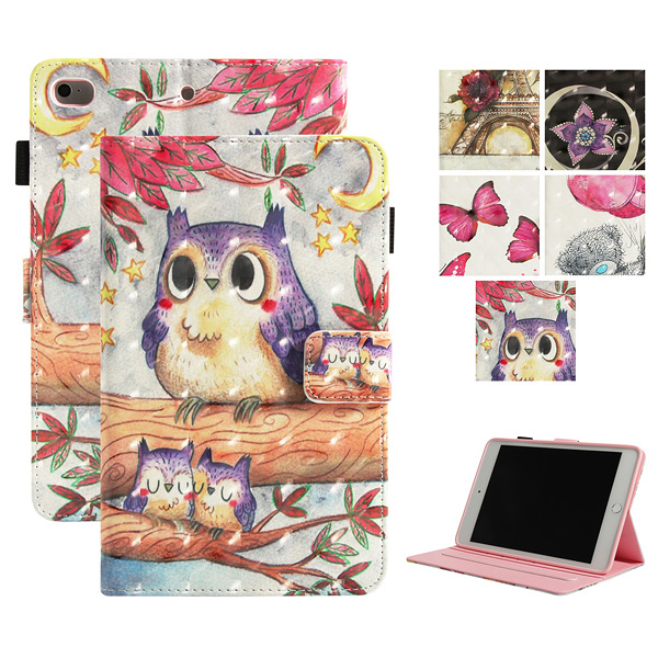 蘋果 Ipad 2.3.4 Air2 Air N7彩繪平板套 平板保護套 平板 皮套 插卡 支架