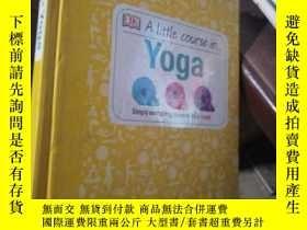 二手書博民逛書店A罕見little course in yoga英文原版:瑜伽課