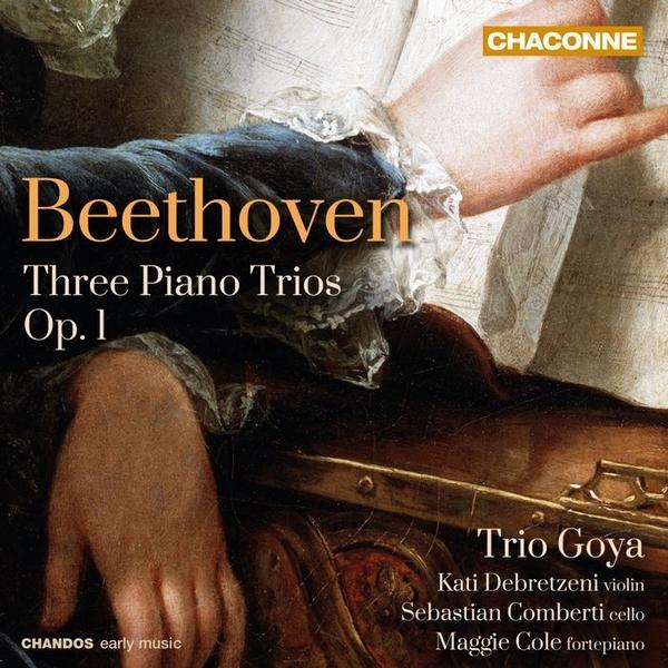 停看聽音響唱片】【CD】 貝多芬:鋼琴三重奏第1~3號 / 哥雅三重奏