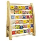 《 德國 HAPE 愛傑卡 》多功能字母數字學習架 ╭★ JOYBUS玩具百貨