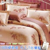 鋪棉床包 100%精梳棉 全舖棉床包兩用被三件組 單人3.5*6.2尺 Best寢飾 CB088-2