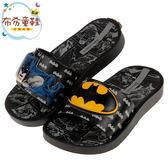 《布布童鞋》Ipanema蝙蝠俠漫畫風格黑色兒童拖鞋(17~21公分) [ U9G696D ]