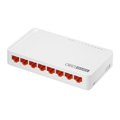 TOTOLINK 8埠Giga極速乙太網路交換器 S808G V2