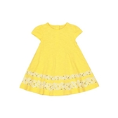mothercare 黃小碎花洋裝-小太陽系列(M0SE771)12個月