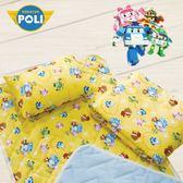 波力 守護 黃 卡通 兒童睡墊三件組 台灣製 超取限一組