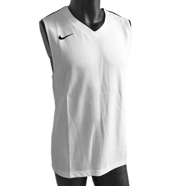 Nike AS Team League Tank [614447-110] 男 籃球 背心 透氣 單面 白黑