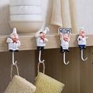 浴室卡通不銹鋼掛鉤墻上門後粘膠無痕勾廚房...