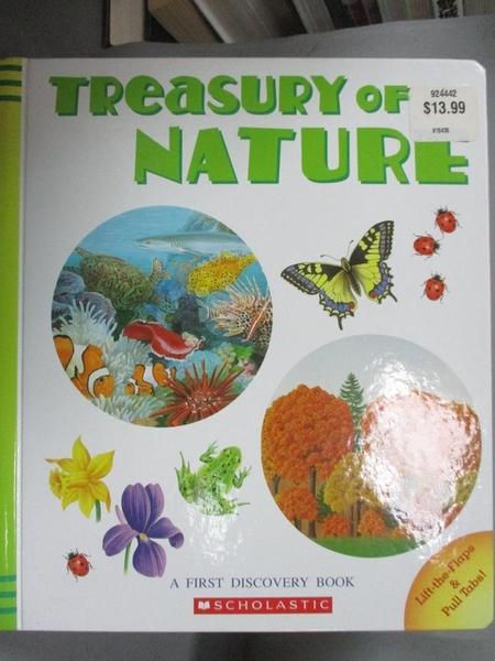 【書寶二手書T1/兒童文學_QIL】Treasury of Nature_Nathalie Corradini Anne de Bouchony