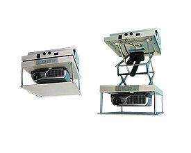【台北視聽劇院音響影音】台製ELift101 輕巧小型投影機 電動遙控升降架 電動吊架
