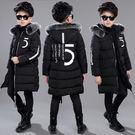 (萬聖節狂歡)兒童裝男童冬裝棉衣外套新品男孩加厚棉襖中大童羽絨棉服冬季