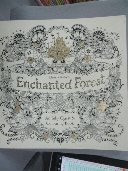 【書寶二手書T4/藝術_YEN】Enchanted Forest_Johanna Basford