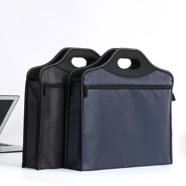 牛津布手提文件袋A4帆布商務