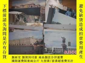 二手書博民逛書店外國罕見明信片:LIST OF ILLUSTRATIONS 【俄