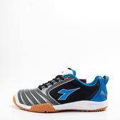 DIADORA  男羽排球鞋-黑/藍 DA8AMI3926