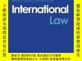 二手書博民逛書店Basic罕見Documents In International LawY256260 The Late I