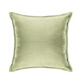 HOLA 新素色織紋抱枕50x50cm 淺綠色