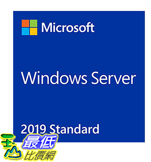 [8美國直購] 暢銷軟體 Microsoft Windows Server Standard 2019 - Base License (16-Core)