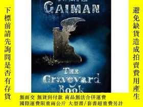 二手書博民逛書店紐伯瑞獎英語有聲罕見The Graveyard Book 10張