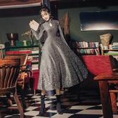 現貨氣質連身裙修身晚宴尾牙聚會禮服長裙【雲木雜貨】