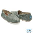 TOMS 經典帆布休閒鞋-女款(10011015 GREEN)
