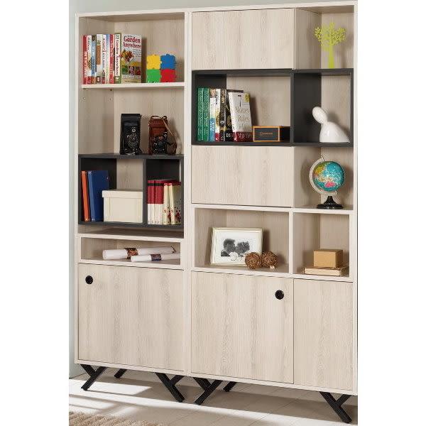 書櫃 書櫥 MK-372-12 優娜4.7尺開門書櫥【大眾家居舘】
