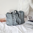 EACHY旅行包男女短途旅游可摺疊韓版便攜大容量背包手提行李袋子 一米陽光