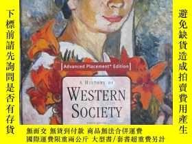 二手書博民逛書店A罕見History of Western Society: S