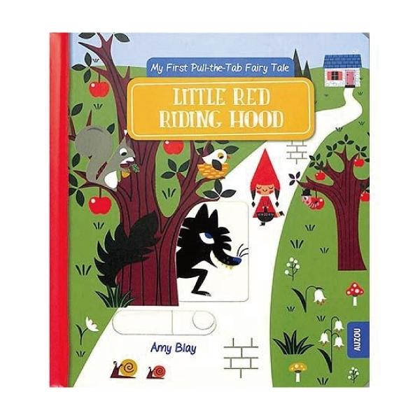 Little Red Riding Hood 小紅帽-推拉硬頁書