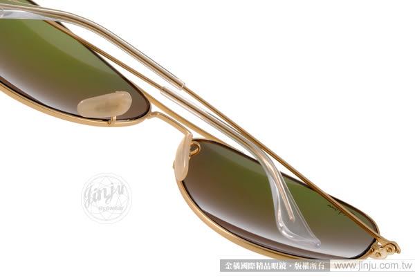 RayBan 太陽眼鏡 RB3025 11269 -62mm (金-紅水銀) 搶手經典水銀鏡面款 # 金橘眼鏡