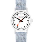 MONDAINE 瑞士國鐵 essence系列腕錶-32mm / 天空藍 32110LD
