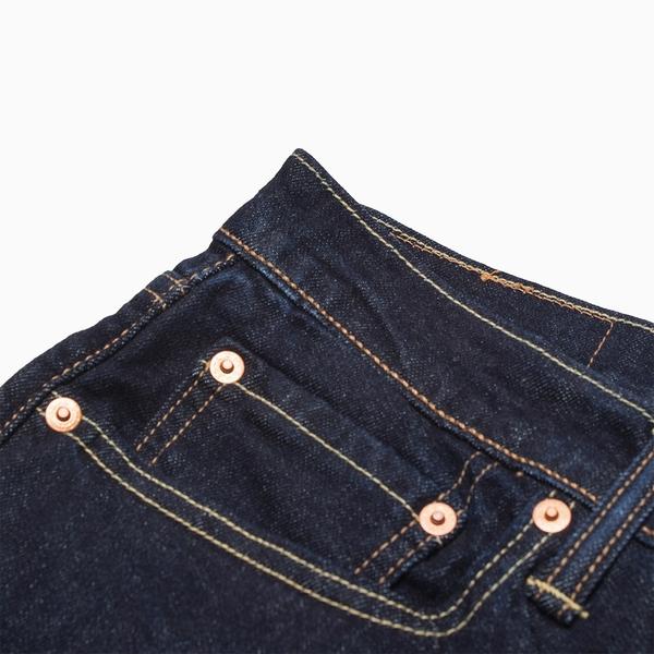 Levis 男款上寬下窄 / 512 Taper 低腰修身牛仔長褲 / 原色丹寧 / 彈性布料 / 延續款