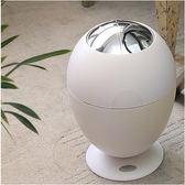 歐本 歐式電子智能感應垃圾桶 時尚創意客廳臥室電動免腳踏垃圾筒(白雪公主)