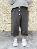 休閒褲兒童休閒褲2020春裝新款韓版男童洋氣長褲子小童寶寶寬松闊腿褲潮 嬡孕哺